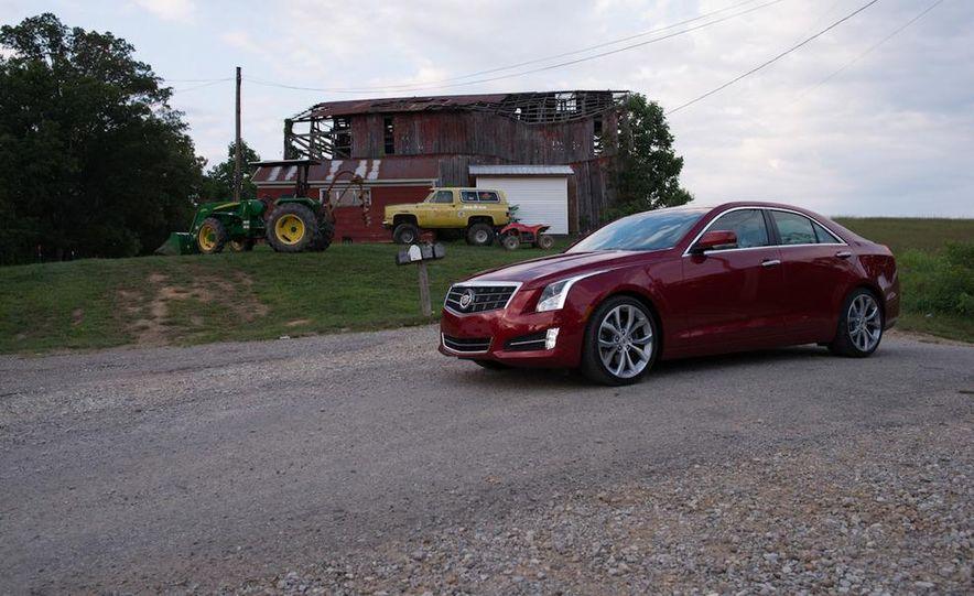 2013 Cadillac ATS 2.0T and 2012 BMW 328i sedan - Slide 28