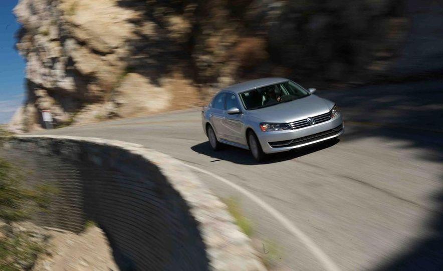 2013 Nissan Altima 2.5 SV sedan, 2012 Volkswagen Passat 2.5 SE, 2013 Honda Accord EX sedan, and 2013 Ford Fusion SE EcoBoost - Slide 80