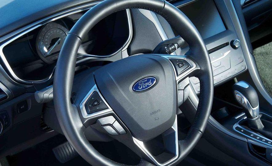 2013 Nissan Altima 2.5 SV sedan, 2012 Volkswagen Passat 2.5 SE, 2013 Honda Accord EX sedan, and 2013 Ford Fusion SE EcoBoost - Slide 31