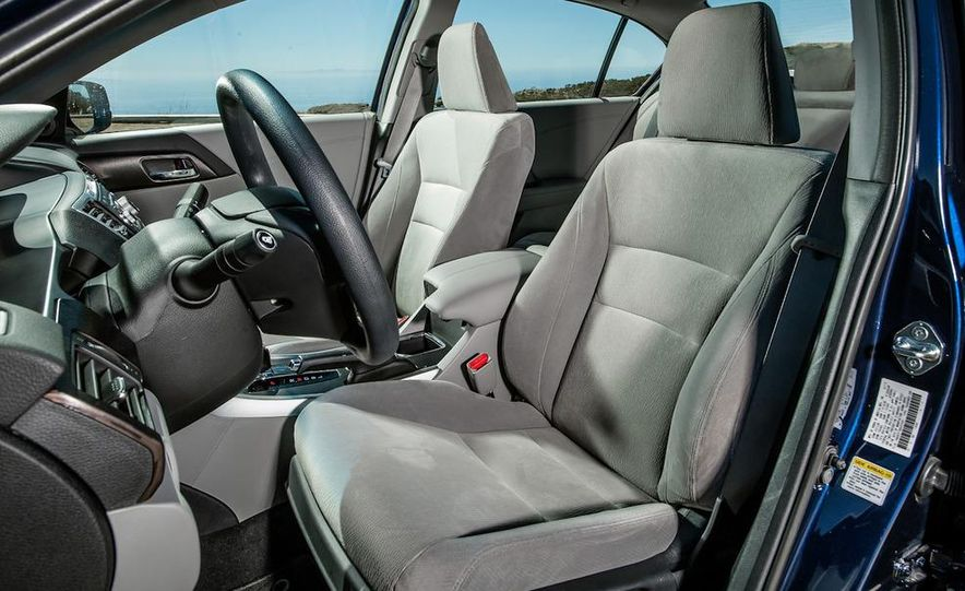 2013 Nissan Altima 2.5 SV sedan, 2012 Volkswagen Passat 2.5 SE, 2013 Honda Accord EX sedan, and 2013 Ford Fusion SE EcoBoost - Slide 47