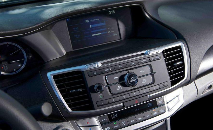 2013 Nissan Altima 2.5 SV sedan, 2012 Volkswagen Passat 2.5 SE, 2013 Honda Accord EX sedan, and 2013 Ford Fusion SE EcoBoost - Slide 51