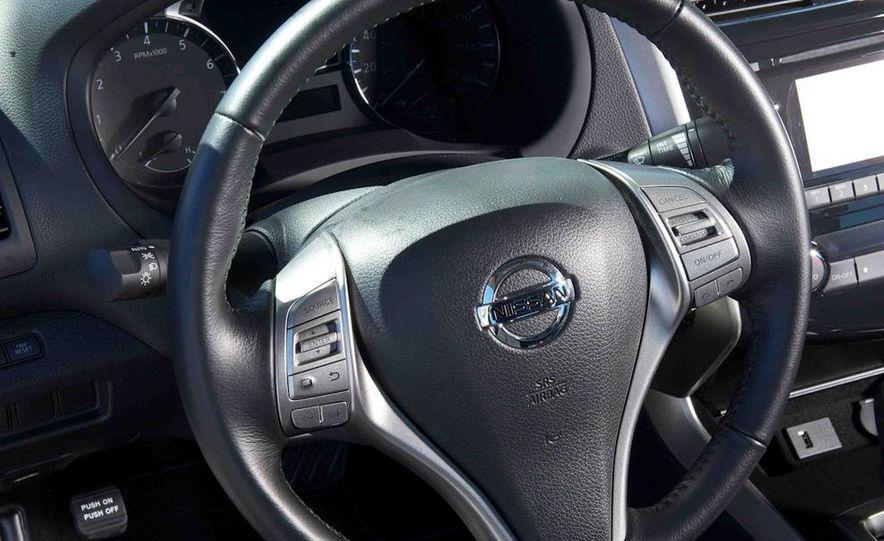 2013 Nissan Altima 2.5 SV sedan, 2012 Volkswagen Passat 2.5 SE, 2013 Honda Accord EX sedan, and 2013 Ford Fusion SE EcoBoost - Slide 69