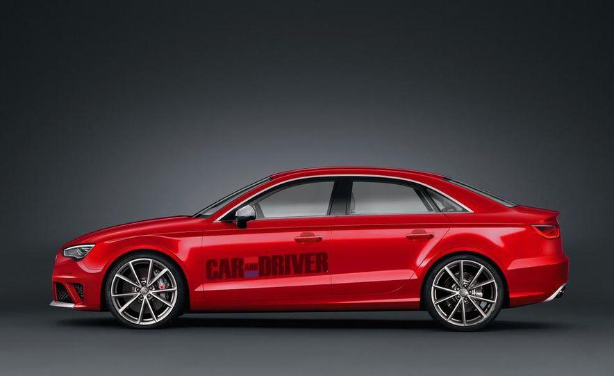 2015 Audi RS3 sedan (artist's rendering) - Slide 1