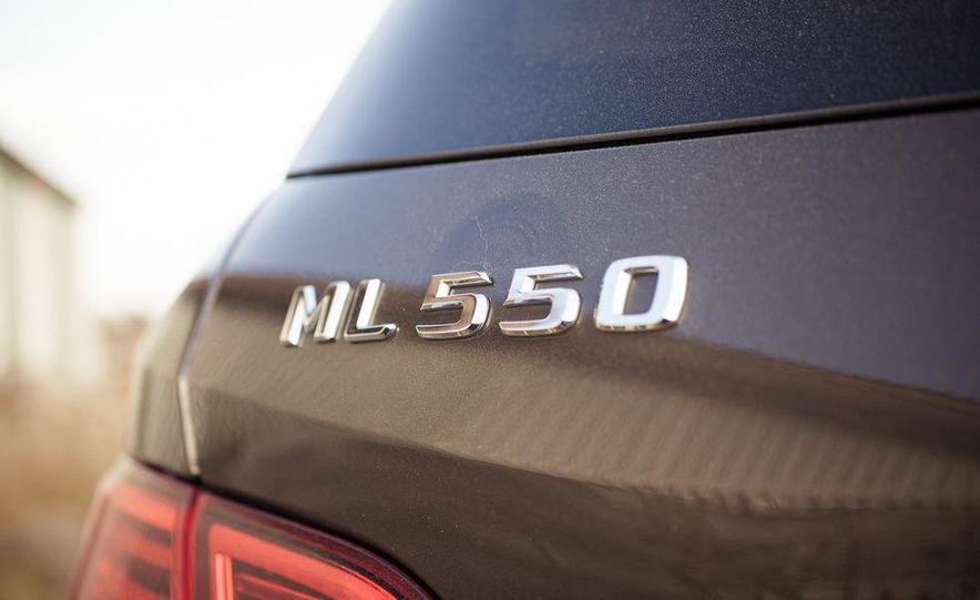 2012 Mercedes-Benz ML550 4MATIC Blue Efficiency - Slide 20