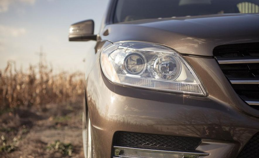 2012 Mercedes-Benz ML550 4MATIC Blue Efficiency - Slide 12