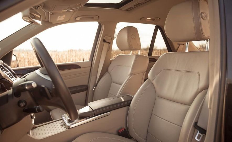 2012 Mercedes-Benz ML550 4MATIC Blue Efficiency - Slide 23