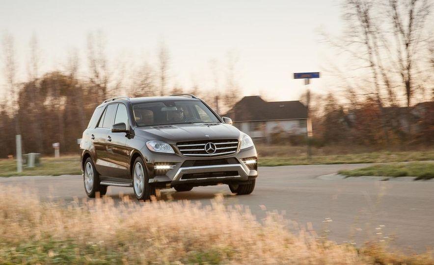 2012 Mercedes-Benz ML550 4MATIC Blue Efficiency - Slide 3