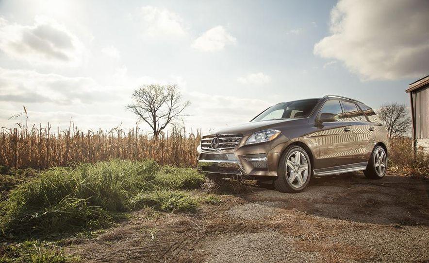 2012 Mercedes-Benz ML550 4MATIC Blue Efficiency - Slide 7