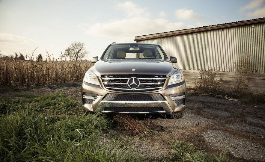 2012 Mercedes-Benz ML550 4MATIC Blue Efficiency - Slide 8