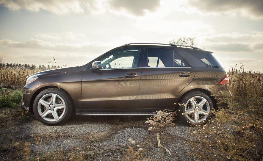 2012 Mercedes-Benz ML550 4MATIC Blue Efficiency - Slide 9
