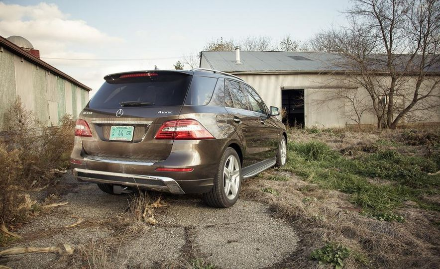 2012 Mercedes-Benz ML550 4MATIC Blue Efficiency - Slide 10