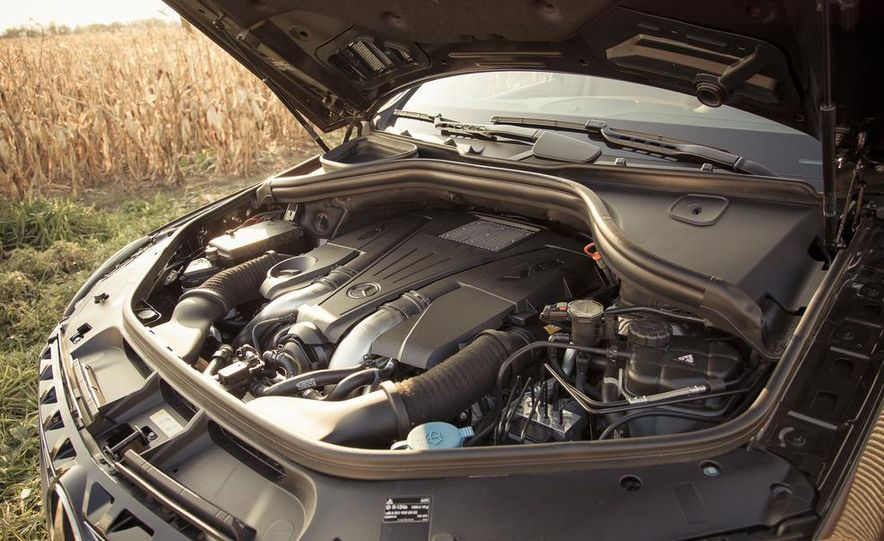 2012 Mercedes-Benz ML550 4MATIC Blue Efficiency - Slide 53