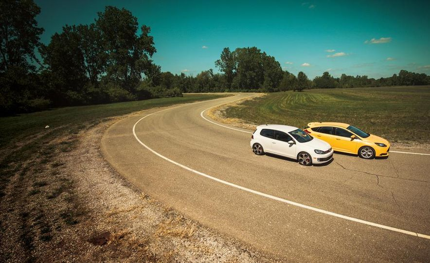 2012 Volkswagen GTI and 2013 Ford Focus ST - Slide 2