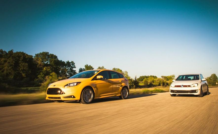 2012 Volkswagen GTI and 2013 Ford Focus ST - Slide 3