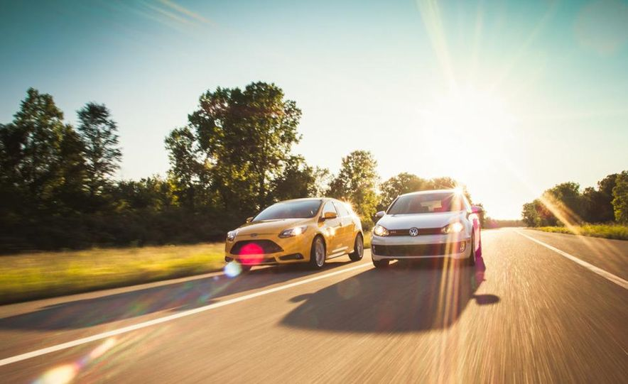 2012 Volkswagen GTI and 2013 Ford Focus ST - Slide 4