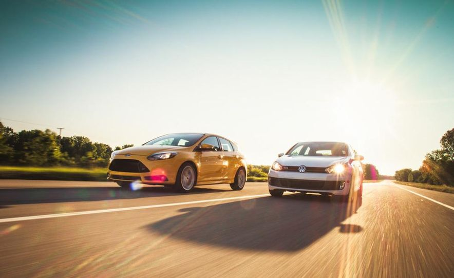 2012 Volkswagen GTI and 2013 Ford Focus ST - Slide 5