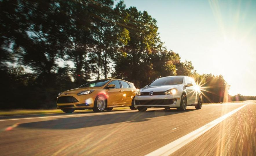 2012 Volkswagen GTI and 2013 Ford Focus ST - Slide 6