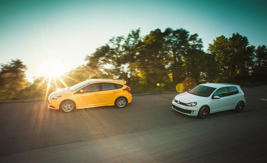 2012 Volkswagen GTI and 2013 Ford Focus ST - Slide 7