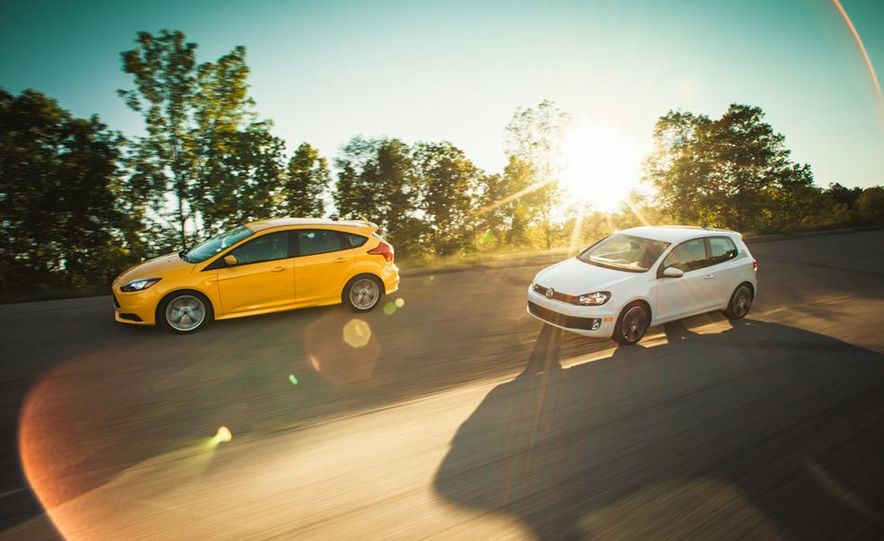 2012 Volkswagen GTI and 2013 Ford Focus ST - Slide 8