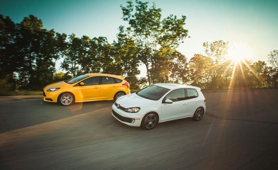 2012 Volkswagen GTI and 2013 Ford Focus ST - Slide 9