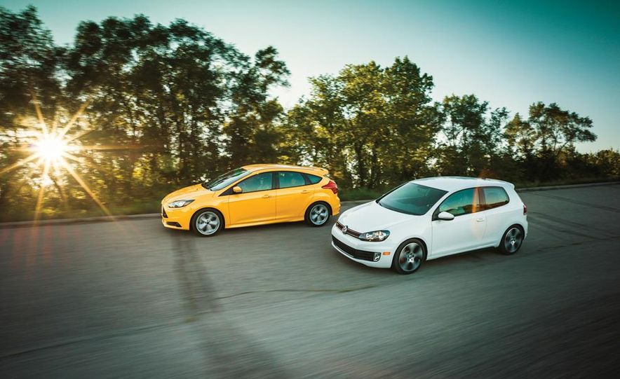 2012 Volkswagen GTI and 2013 Ford Focus ST - Slide 10