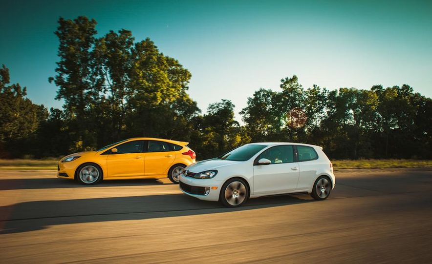 2012 Volkswagen GTI and 2013 Ford Focus ST - Slide 11