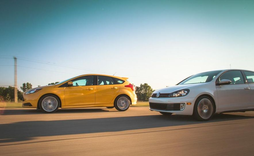 2012 Volkswagen GTI and 2013 Ford Focus ST - Slide 12