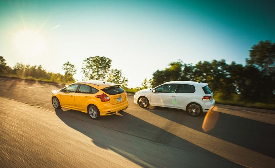 2012 Volkswagen GTI and 2013 Ford Focus ST - Slide 15