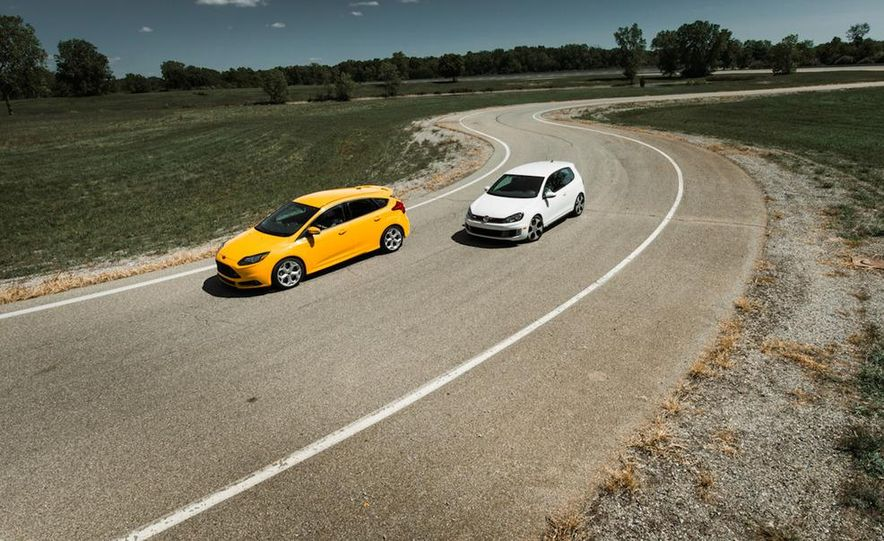 2012 Volkswagen GTI and 2013 Ford Focus ST - Slide 16