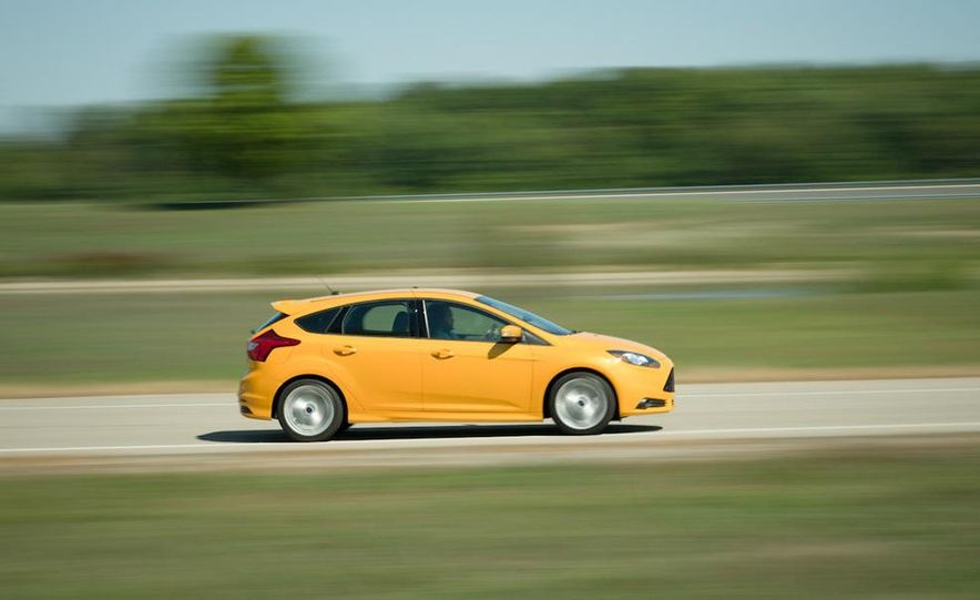 2012 Volkswagen GTI and 2013 Ford Focus ST - Slide 18