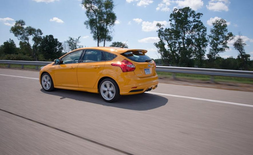 2012 Volkswagen GTI and 2013 Ford Focus ST - Slide 19