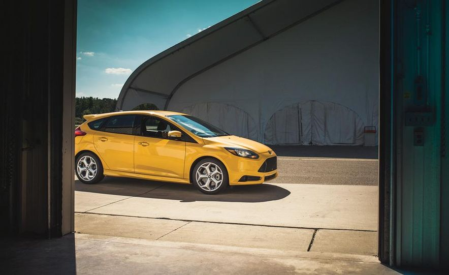 2012 Volkswagen GTI and 2013 Ford Focus ST - Slide 21