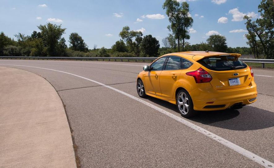 2012 Volkswagen GTI and 2013 Ford Focus ST - Slide 22