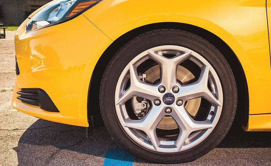 2012 Volkswagen GTI and 2013 Ford Focus ST - Slide 23