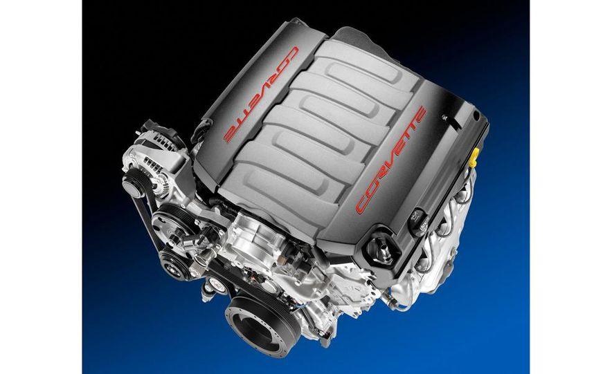 2014 Chevrolet Corvette LT1 6.2-liter V8 VVT DI engine - Slide 4