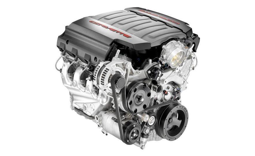 2014 Chevrolet Corvette LT1 6.2-liter V8 VVT DI engine - Slide 2