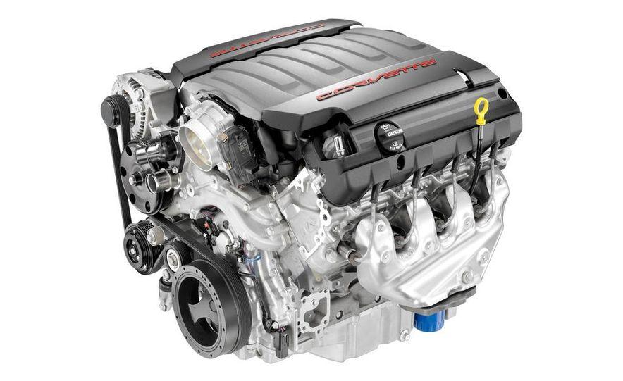 2014 Chevrolet Corvette LT1 6.2-liter V8 VVT DI engine - Slide 1