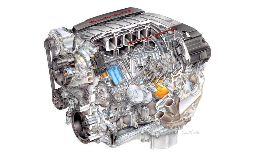 2014 Chevrolet Corvette LT1 6.2-liter V8 VVT DI engine - Slide 5