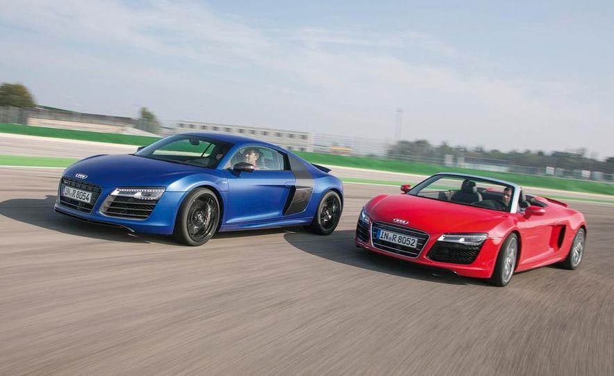 2014 Audi R8 V10, Plus, and Spyder - Slide 2