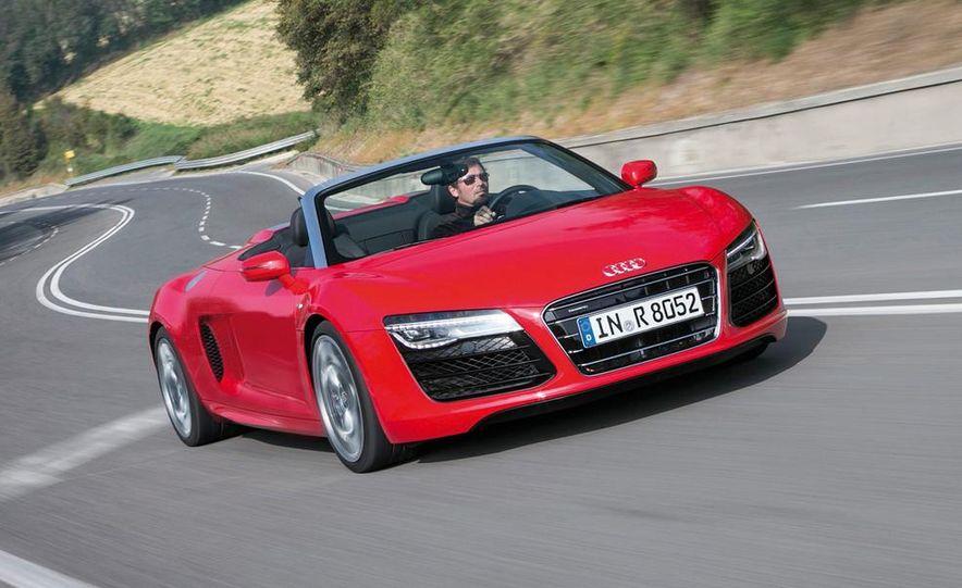 2014 Audi R8 V10, Plus, and Spyder - Slide 26