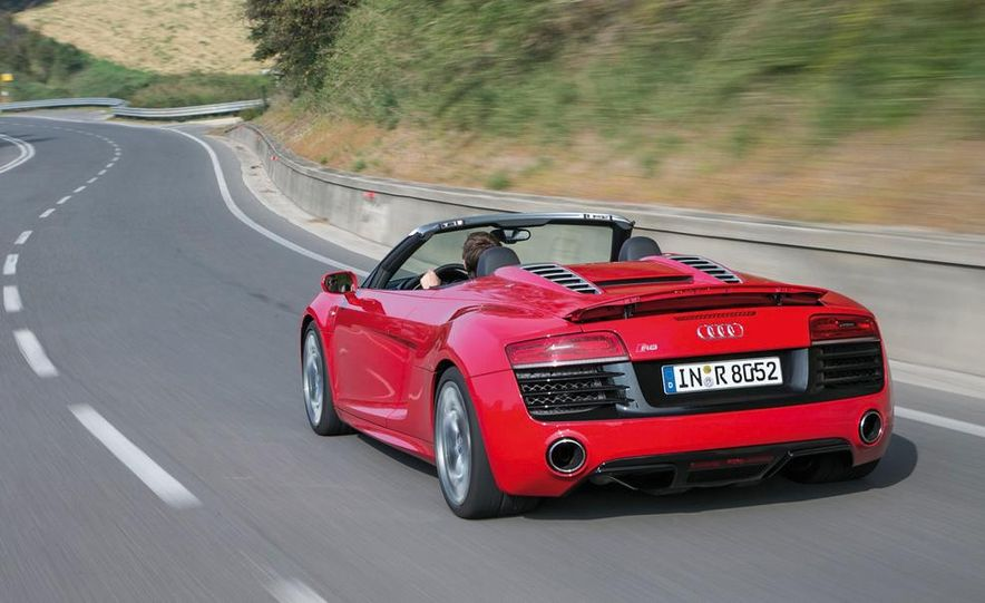 2014 Audi R8 V10, Plus, and Spyder - Slide 28