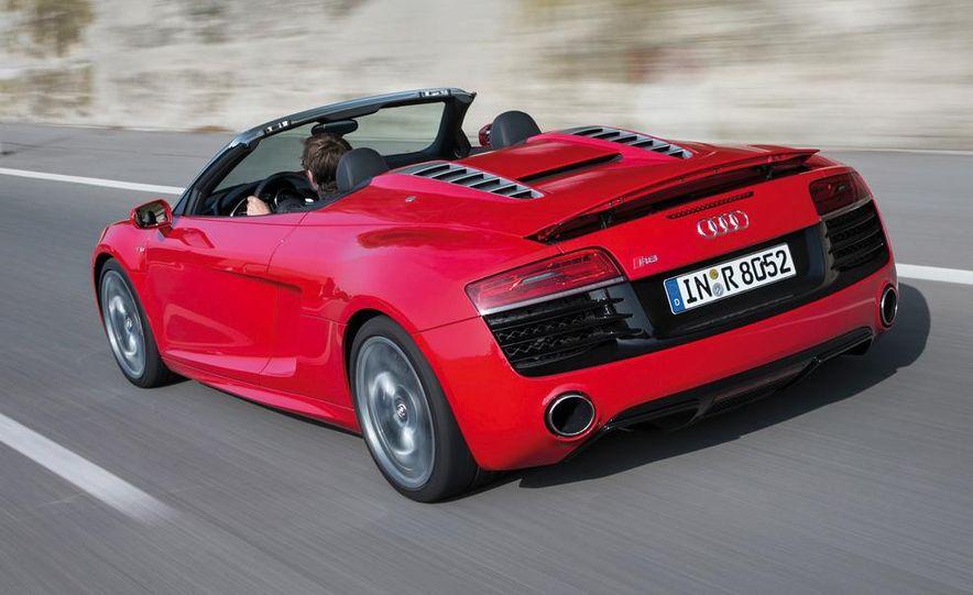 2014 Audi R8 V10, Plus, and Spyder - Slide 29