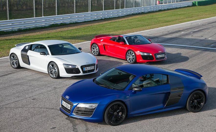 2014 Audi R8 V10, Plus, and Spyder - Slide 1