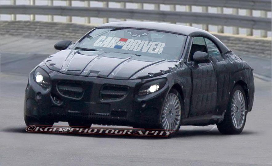 2015 Mercedes-Benz S-class cabriolet (spy photo) - Slide 1
