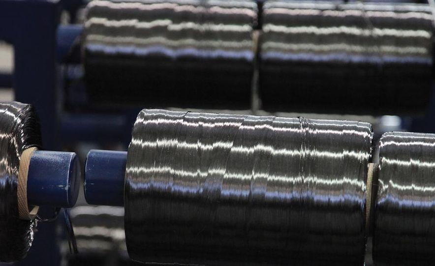 Fiber color darkens as hydrogen and nitrogen are expelled from precursor material. - Slide 2
