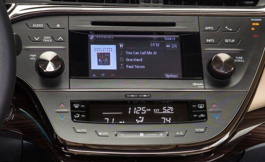 2013 Toyota Avalon Limited - Slide 40