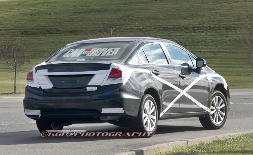 2013 Honda Civic (spy photo) - Slide 7