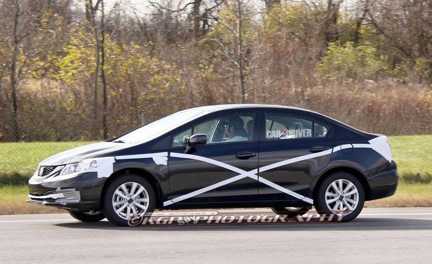 2013 Honda Civic (spy photo) - Slide 3