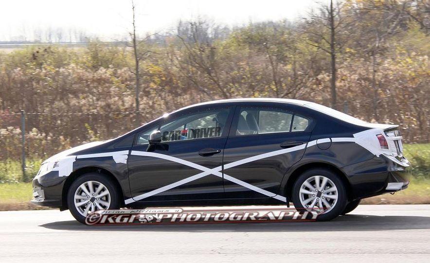 2013 Honda Civic (spy photo) - Slide 5