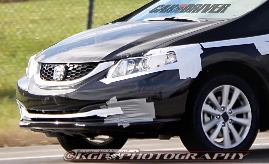 2013 Honda Civic (spy photo) - Slide 9